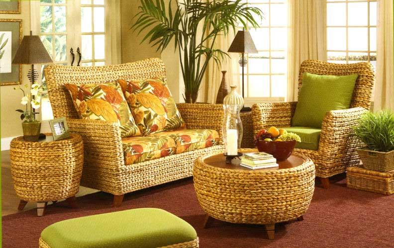 Плетеная мебель – оригинальное решение для дома